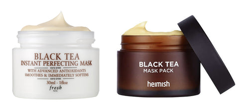 Fresh Black Tea Instant Perfect Mask Dupe Heimish Black Tea Mask Pack Nudie Glow Korean Skin Care Australia
