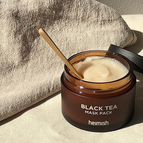 Heimish Black Tea Mask Pack Nudie Glow Korean Skin Care Australia