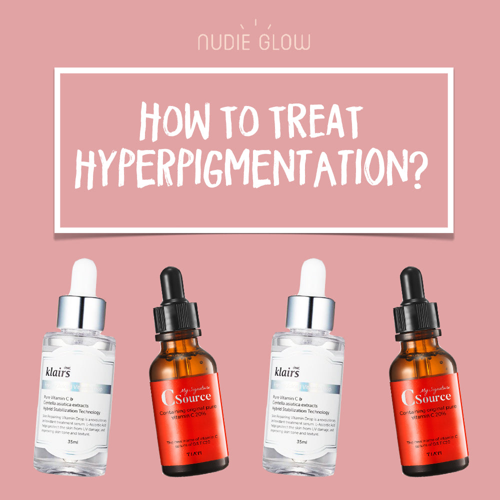 How to Treat Hyperpigmentation Nudie Blog Best Korean Beauty Australia