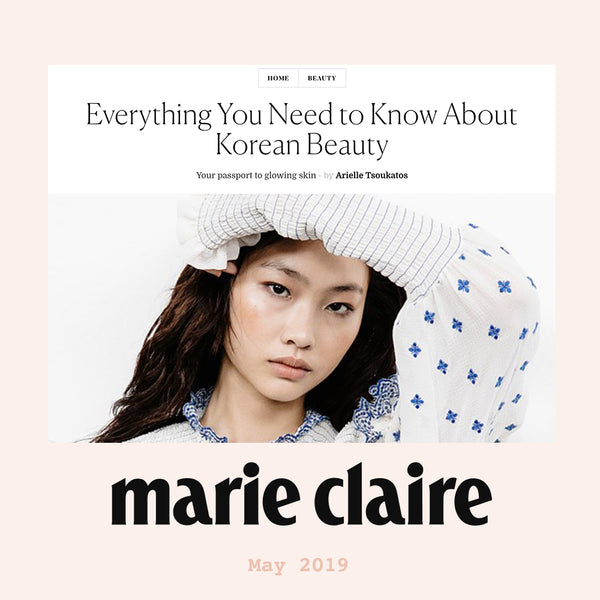 Everything You Need to Know About K-Beauty Marie Claire Nudie Glow Feature Australia