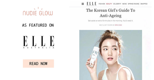 Elle Australia The Korean Girl's Guide To Anti-Ageing Nudie Glow Korean Beauty Australia