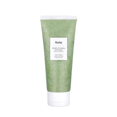 Huxley Scrub Mask Nudie Glow Korean Beauty Australia