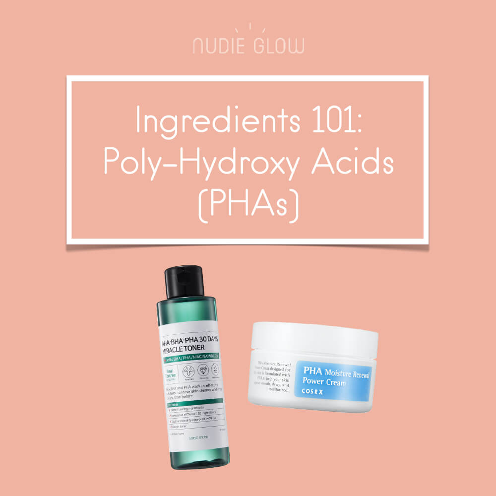 Poly Hydroxy Acid PHA Korean Skin Care Guide Nudie Glow Blog Australia