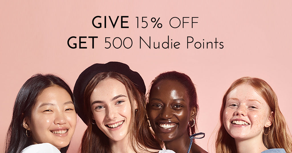 Nudie Glow Korean Beauty referral program