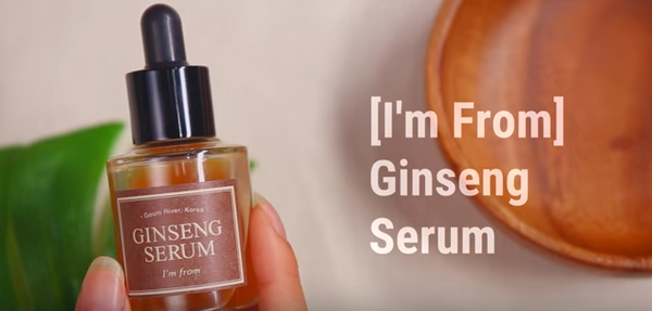 I'm from ginseng serum nudie glow korean beauty skincare australia