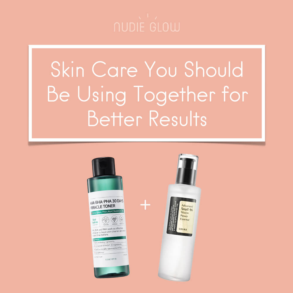 Skin Care You Should Be Using Together for Better Results Nudie Glow Blog Korean Skin Care Australia