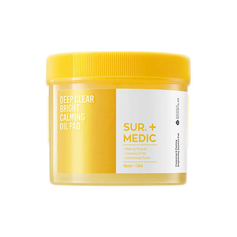 Sur. Medic Deep Clear Bright Calming Oil Pad Nudie glow Korean Skin Care Australia