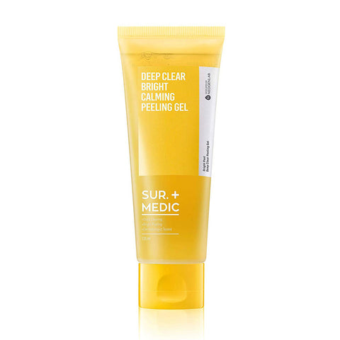 Sur. Medic Deep Clear Bright Calming Peeling Gel Nudie Glow Korean Skin Care Australia