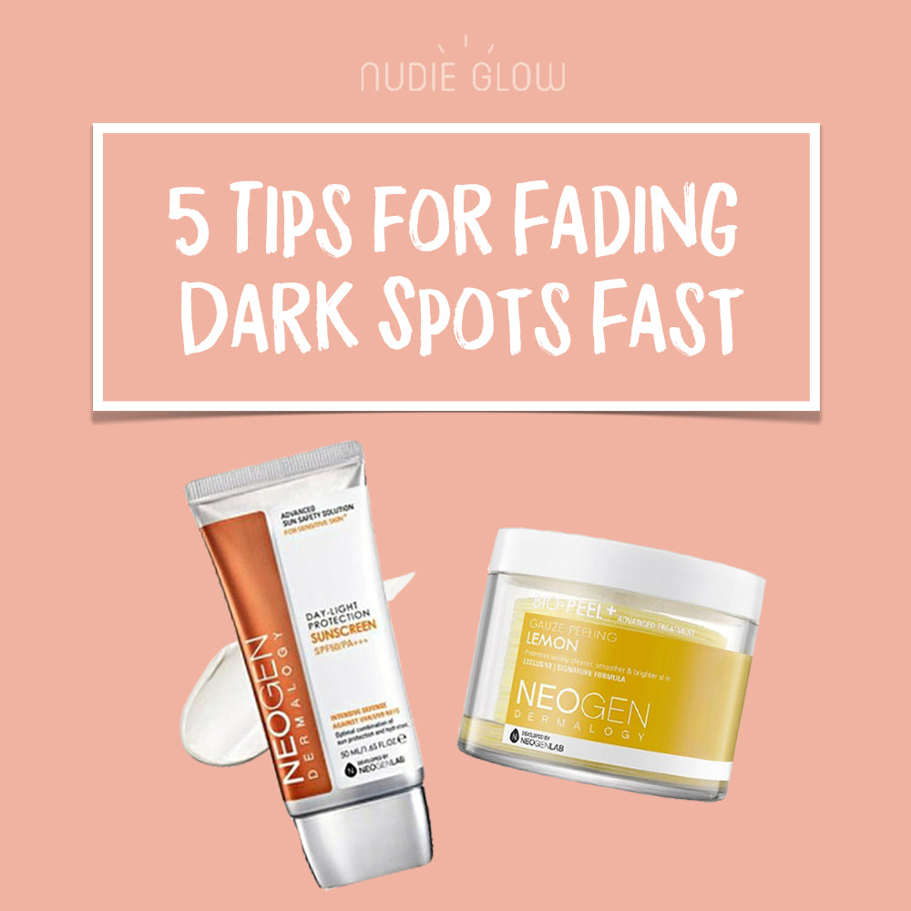 How to Fade Dark Spots Fast Nudie Glow Blog Korean Beauty Australia
