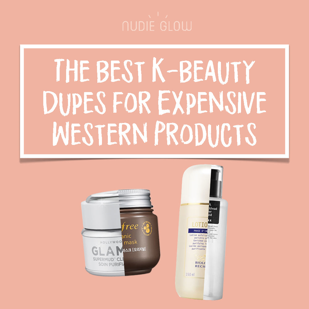 Best Korean Beauty Dupes Makeup and Skin Care Nudie Blog Australia