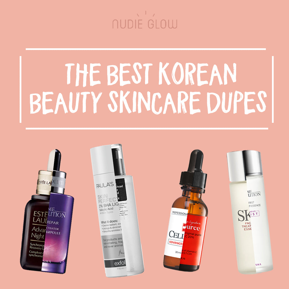 85ff573101 The Best Korean Beauty Skincare Dupes for High-End Skincare Products Nudie  Glow Blog Australia