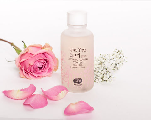 Whamisa Organic Flower Deep Rich Essence Toner 7 Skin Method Nudie Glow Korean Skin Care Australia