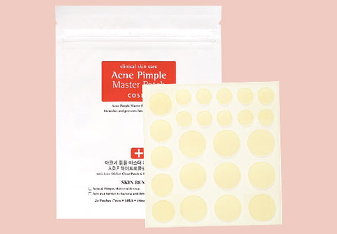 COSRX Acne Pimple Master Patch Pregnancy Safe Korean Skin Care at Nudie Glow Australia