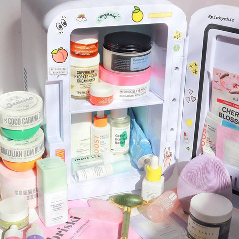 Nudie Glow Mini Beauty Fridge Australia