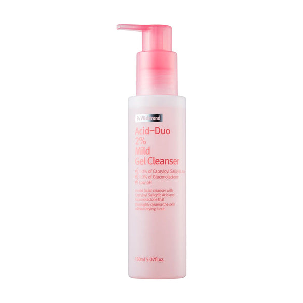 By Wishtrend Acid Duo 2% Mild Gel Cleanser Best Korean Beauty Nudie Glow in Australia