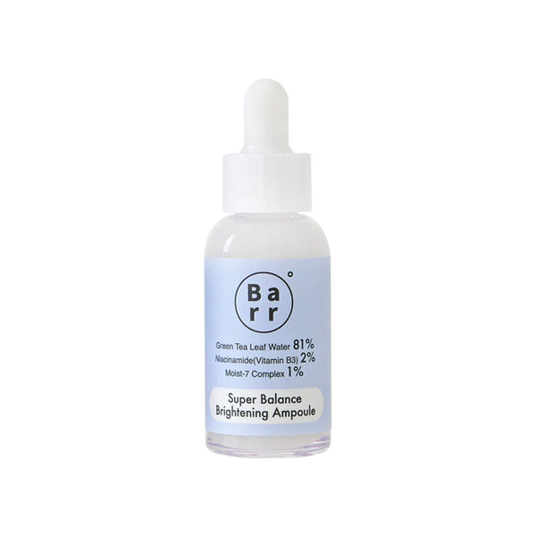 Barr Super Balance Brightening Ampoule Nudie Glow Korean Skin Care Australia