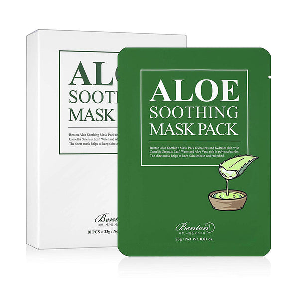 Benton Aloe Soothing Mask Pack Best Korean Beauty Nudie Glow in Australia