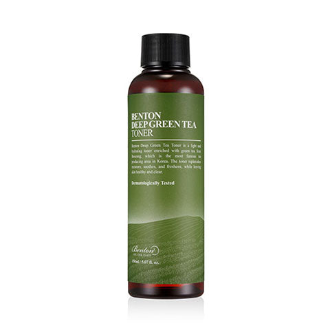 Benton Deep Green Tea Toner Nudie Glow Korean Skin Care Australia
