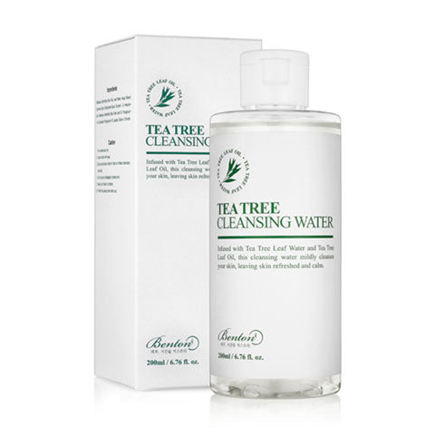 Benton Tea Tree Cleansing Water Korean Beauty Nudie Glow in Australia