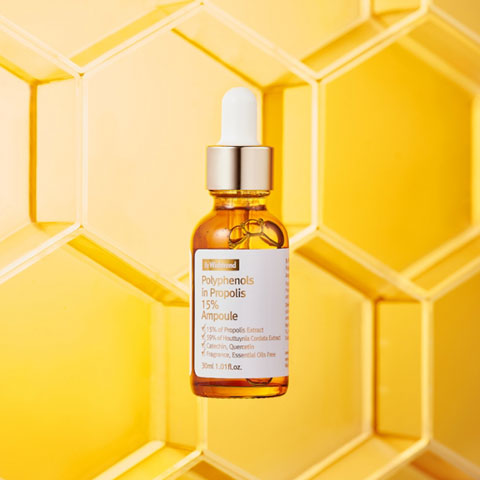 By Wishtrend Polyphenol in Propolis 15% Ampoule Best Korean Beauty Nudie Glow in Australia