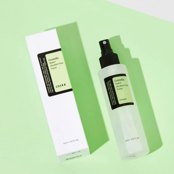 COSRX Centella Water Alcohol-Free Toner Nudie Glow Korean Skin Care Australia