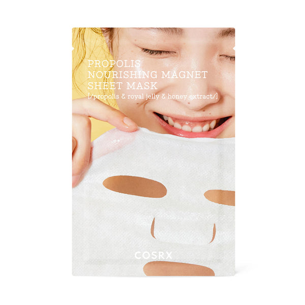 COSRX Full Fit Propolis Nourishing Magnet Sheet Mask Nudie Glow Korean Skin Care Australia