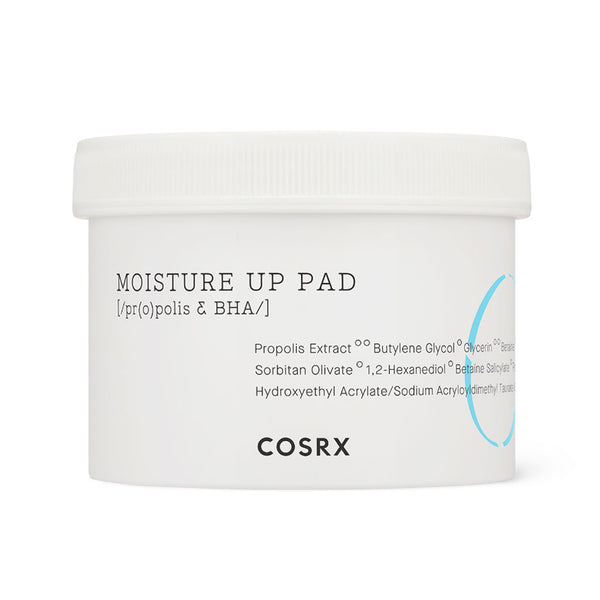 COSRX One Step Moisture Up Pads Nudie Glow Korean Skin Care Australia