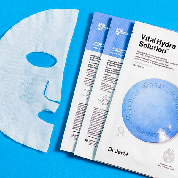 DR. JART+ Dermask Water Jet Vital Hydra Solution Sheet Mask Nudie Glow Australia