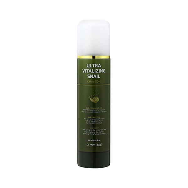 DEWYTREE Ultra Vitalizing Snail Emulsion Nudie Glow Korean Skin Care Australia