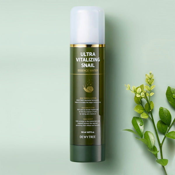 DEWYTREE Ultra Vitalizing Snail Essence Water Nudie Glow Korean Skin Care Australia