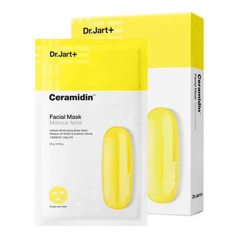 DR JART + Ceramidin Facial Mask Best Korean Beauty Nudie Glow Australia