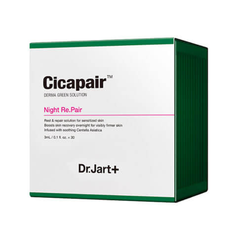 DR JART + Cicapair Night Repair Best Korean Beauty Nudie Glow Australia