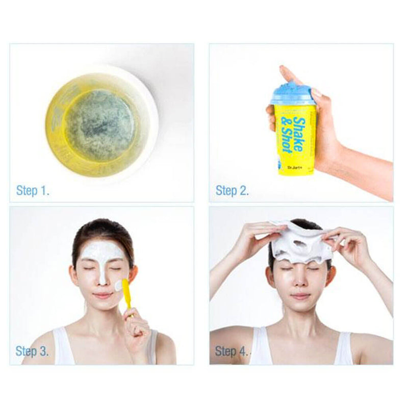 Dr Jart+ Shake & Shot Shaking Rubber Hydro Shot Nudie Glow Korean Beauty Skincare Australia