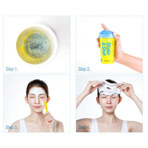 Dr Jart+ Shake & Shot Shaking Rubber Luminous Shot Nudie Glow Korean Beauty Skincare Australia