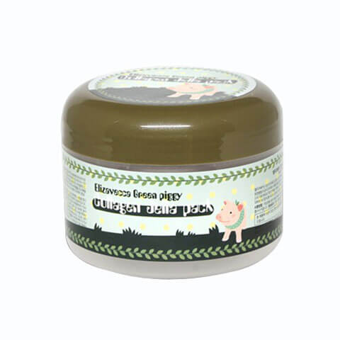 Elizavecca Green Piggy Collagen Jella Pack Nudie Glow Korean Beauty Australia