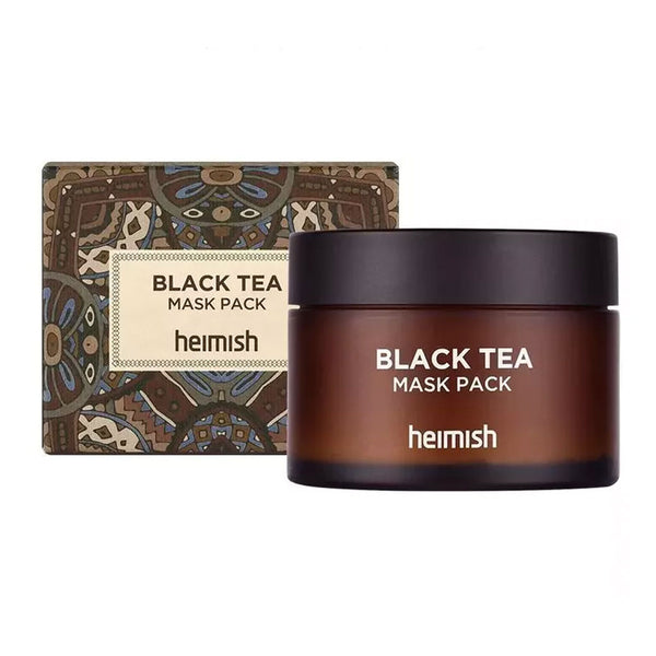 Heimish Black Tea Mask Pack Best Korean Beauty Nudie Glow Australia