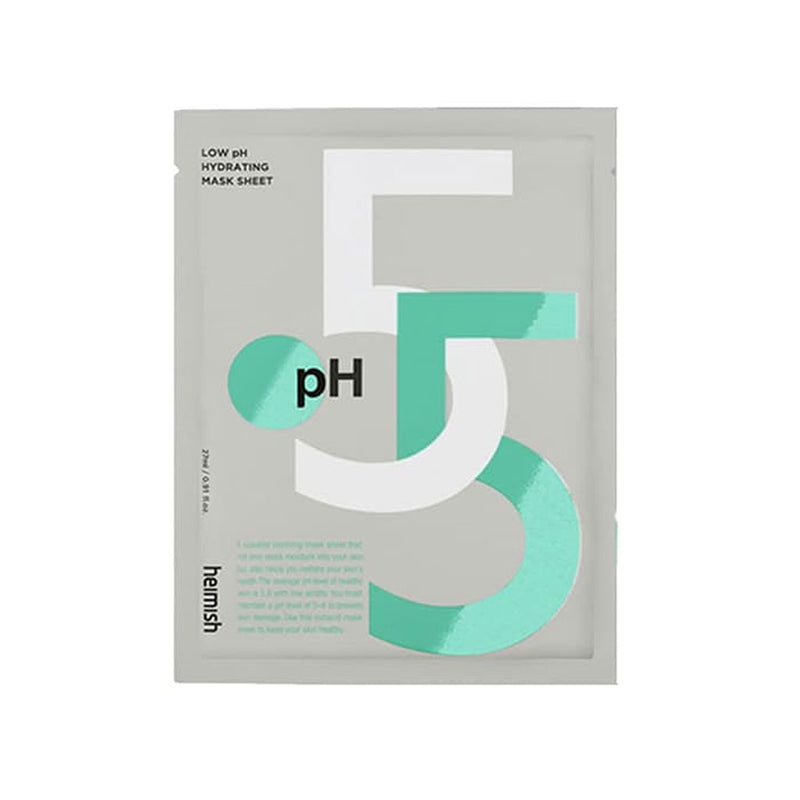 Heimish Low pH 5.5 Hydrating Mask Best Korean Beauty Nudie Glow Australia