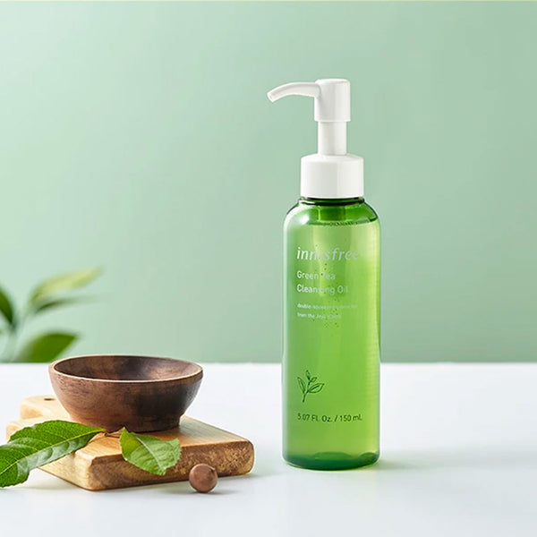INNISFREE Green Tea Cleansing Oil Nudie Glow Korean Skin Care Australia