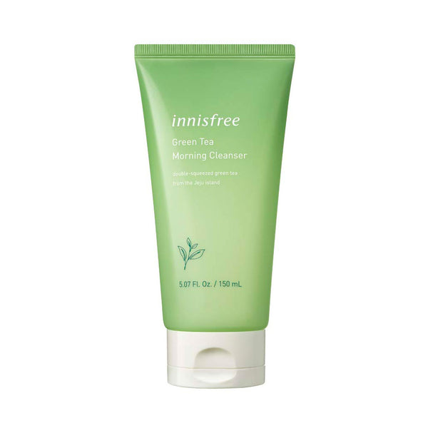 INNISFREE Green Tea Morning Cleanser Nudie Glow Korean Skin Care Australia