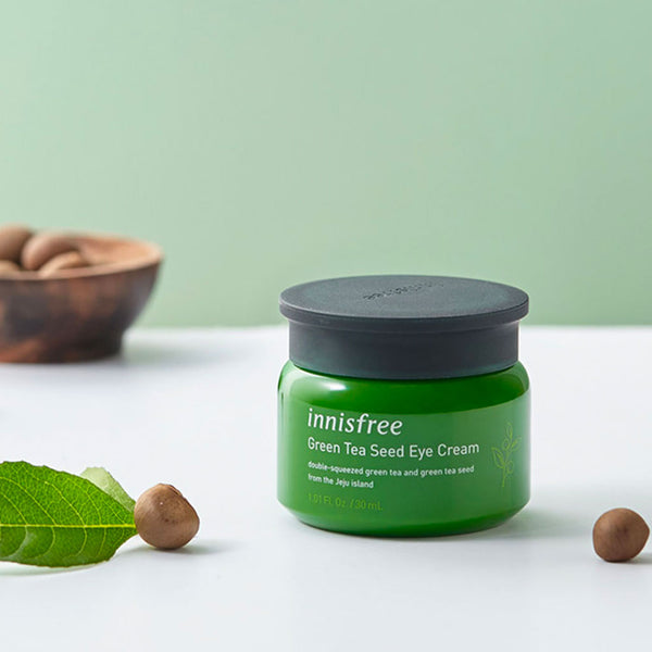 INNISFREE Green Tea Seed Eye Cream Nudie Glow Korean Beauty Skin Care Australia