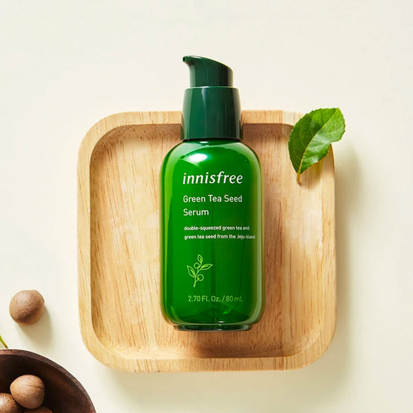 INNISFREE Green Tea Seed Serum Nudie Glow Korean Skin Care Australia
