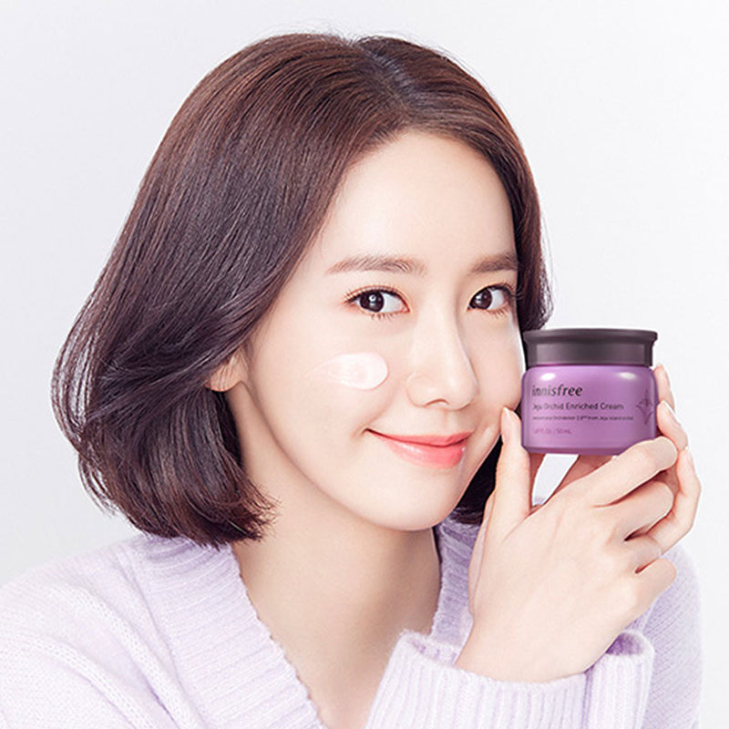 INNISFREE Jeju Orchid Enriched Cream Nudie Glow Korean Skin Care Australia