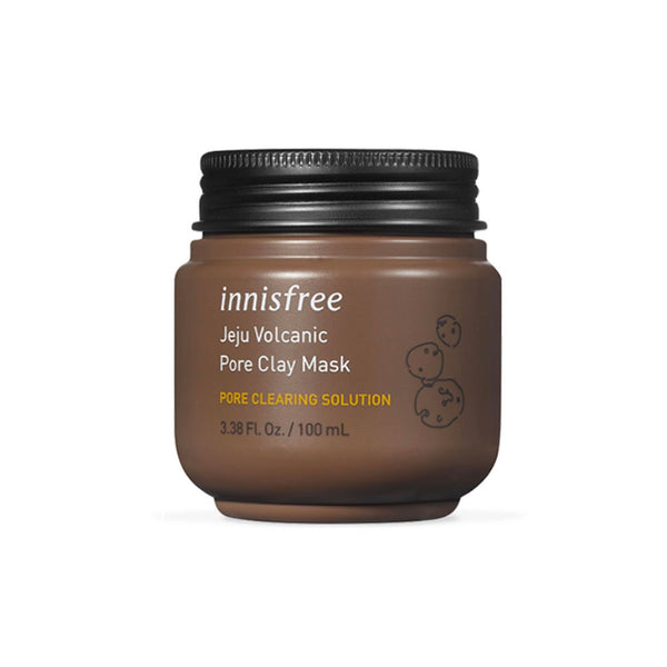 INNISFREE Jeju Volcanic Pore Clay Mask Nudie Glow Korean Skin Care Australia