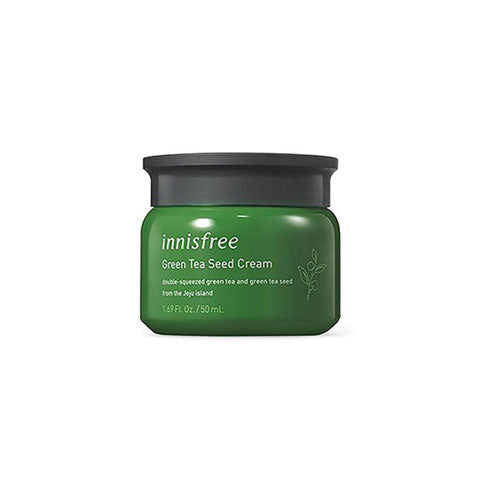 Innisfree Green Tea Seed Cream Nudie Glow Korean Skin Care Australia