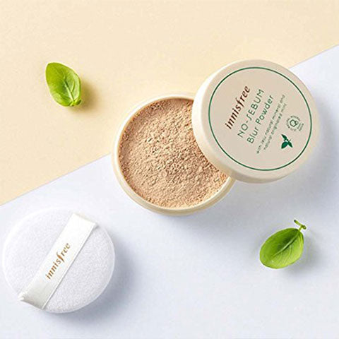 Innisfree No Sebum Blur Powder Nudie Glow Korean Skin Care Australia