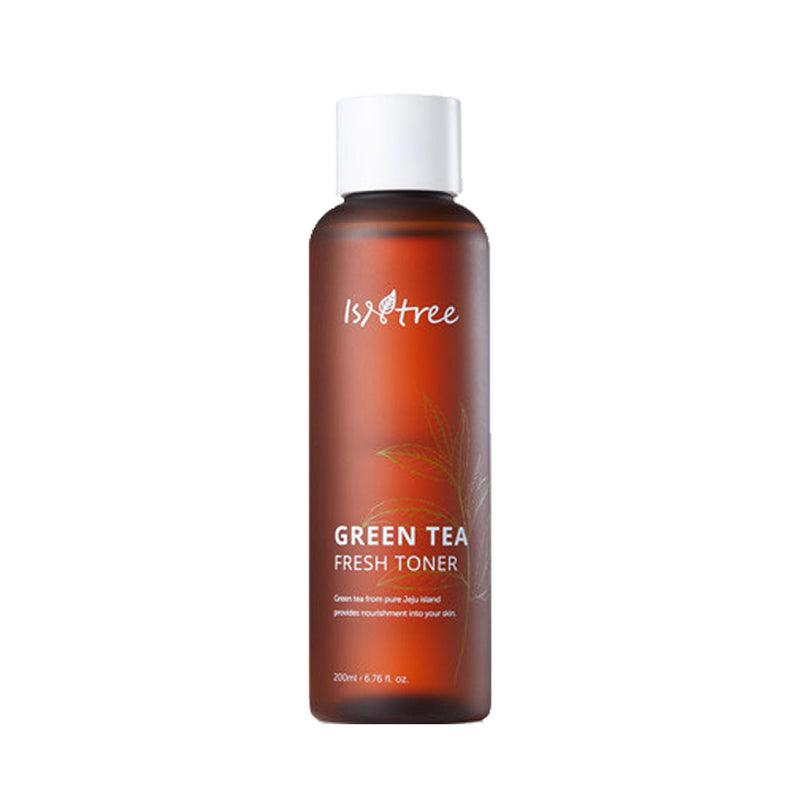 ISNTREE Green Tea Fresh Toner Nudie Glow Korean Skin Care Australia