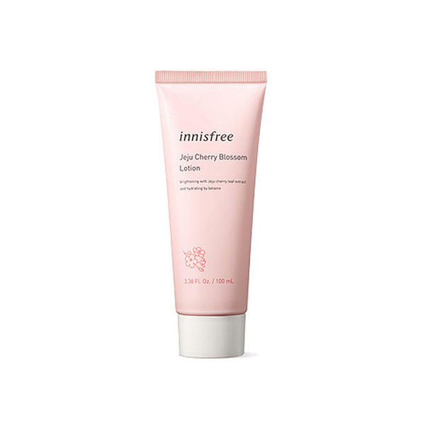 Innisfree Jeju Cherry Blossom Lotion Nudie Glow Korean Skin Care Australia