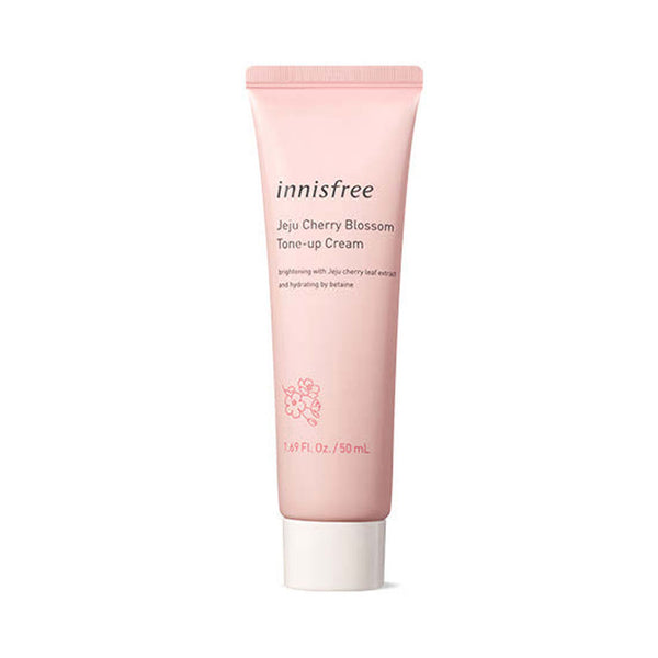 Innisfree Jeju Cherry Blossom Tone Up Cream Nudie Glow Korean Skin Care Australia