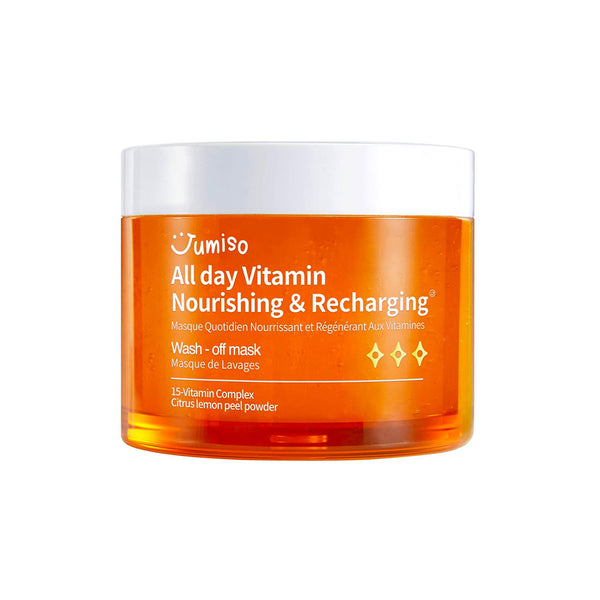 Jumiso All Day Vitamin Nourishing & Recharging Wash-Off Mask Nudie Glow Korean Skin Care Australia