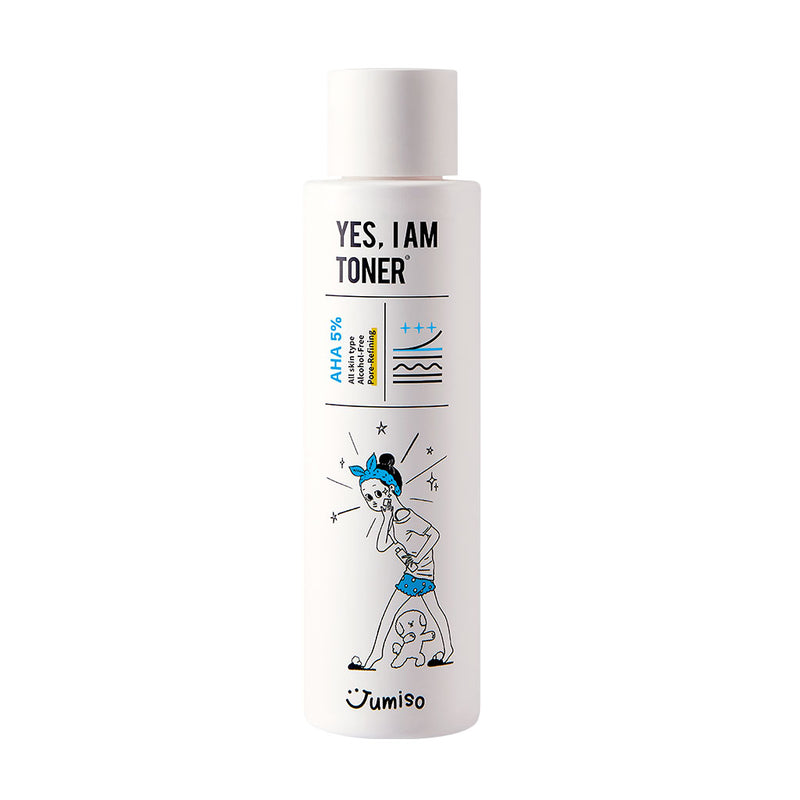 Jumiso Yes I Am Toner AHA 5% Nudie Glow Korean Skin Care Australia